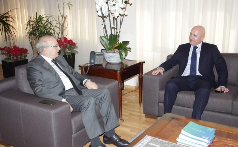 Minister Ghattas Khoury meets Argentine Ambassador