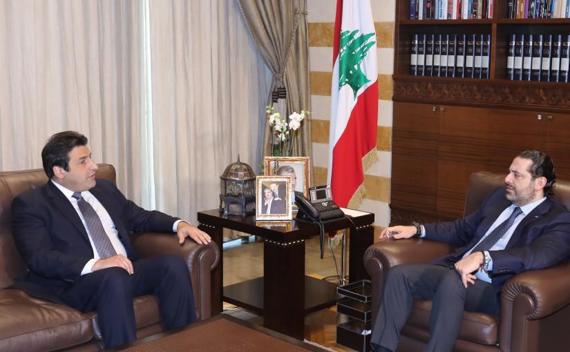 Pr Minister Saad Hariri meets Ambassador Hassan Abass