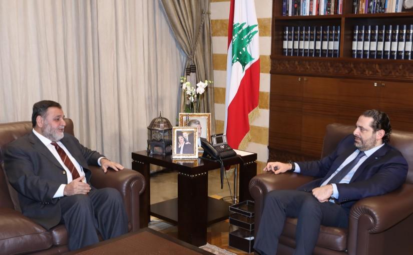 Pr Minister Saad Hariri meets Former MP Khaled el Daher