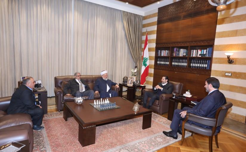 Pr Minister Saad Hariri meets Sheikh Jamal Hammoud