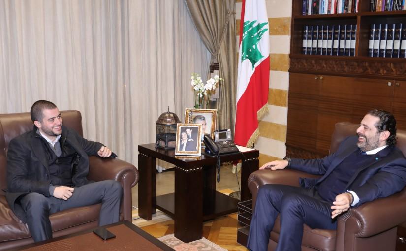 Pr Minister Saad Hariri meets MP Sami Fatfat