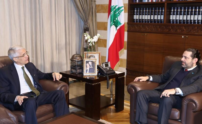 Pr Minister Saad Hariri meets Algerian Ambassador