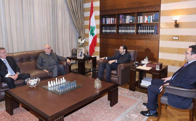 Pr Minister Saad Hariri meets Minister Hassan El Khalil