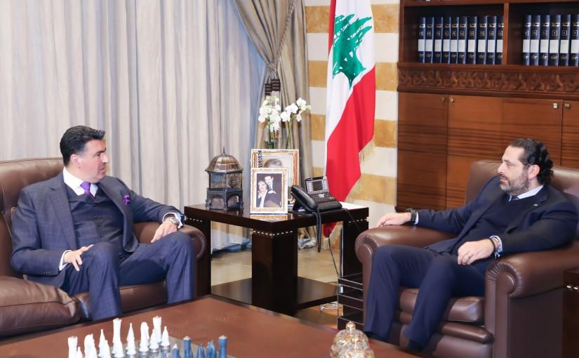 Pr Minister Saad Hariri meets Lebanese Ambassador in Argentine
