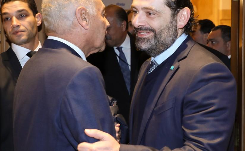 Pr Minister Saad Hariri meets Mr Mouhamad abou el Kheit