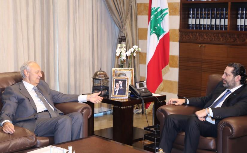 Pr Minister Saad Hariri meets Former Minister Mouhamad Safadi