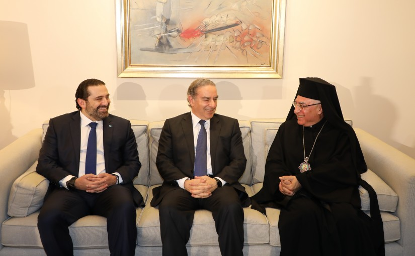 Dinner Hosted by Minister Michel Pharaon in Honors of Pr Minister Saad Hariri