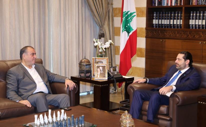Pr Minister Saad Hariri meets MP Mouhamad Sleiman