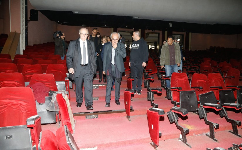 Minister Ghattas Khoury Visits UNESCO Palace