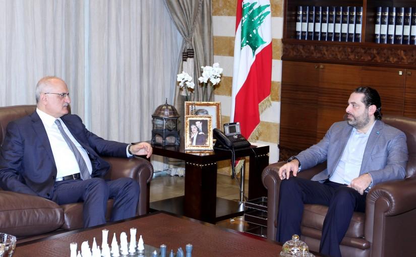 Pr Minister Saad Hariri meets Minister Ali Hussein Khalil