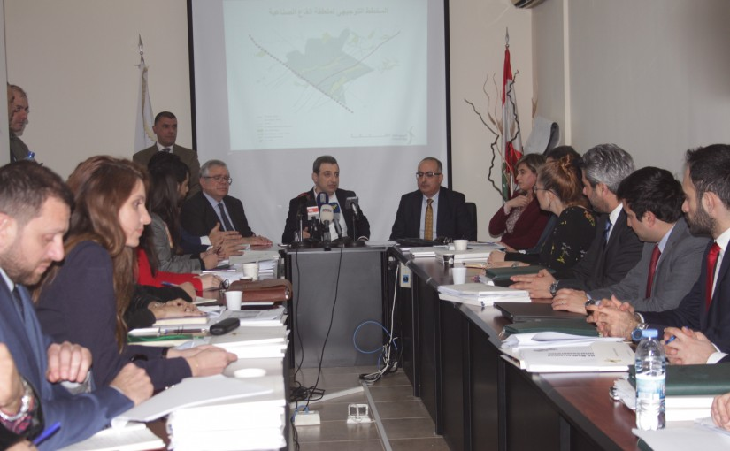 Minister Wael abou Faour meets a Delegation from Economic Employees