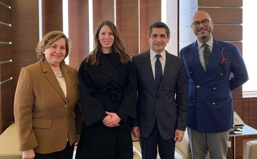 Minister Richard Kouyoumdjian Meets a Delegation from the United Nations Gender Equality Commission