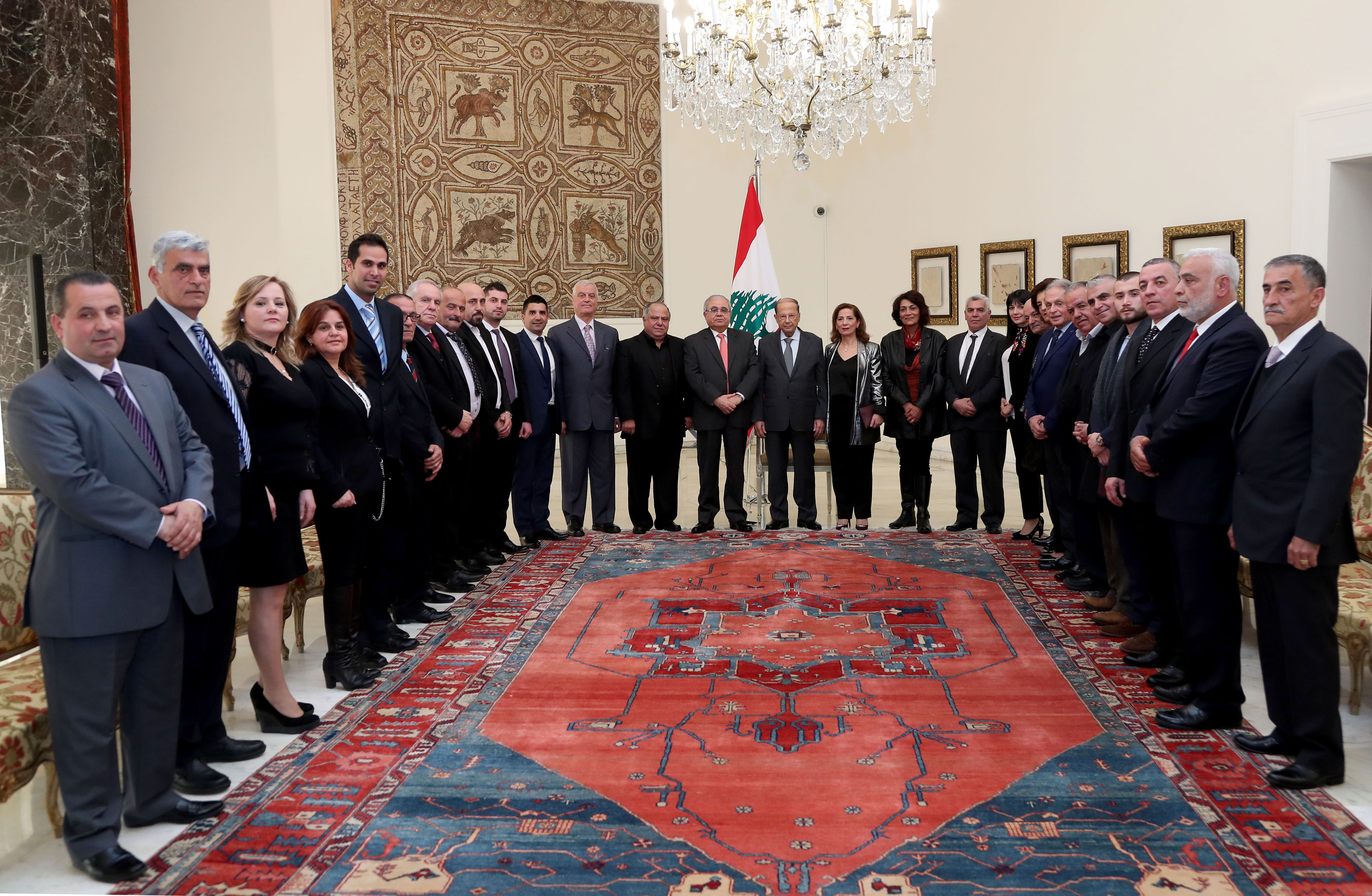 6 -MP Mario Aoun with a delegation (1)