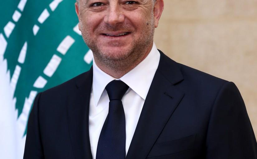 Minister Elias Bou Saab
