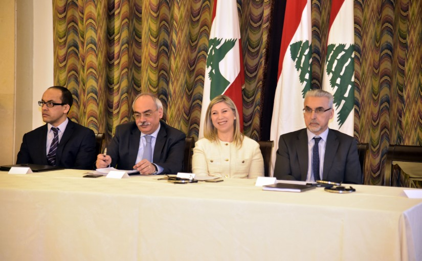 Atomic Energy Conference at the Grand Serail