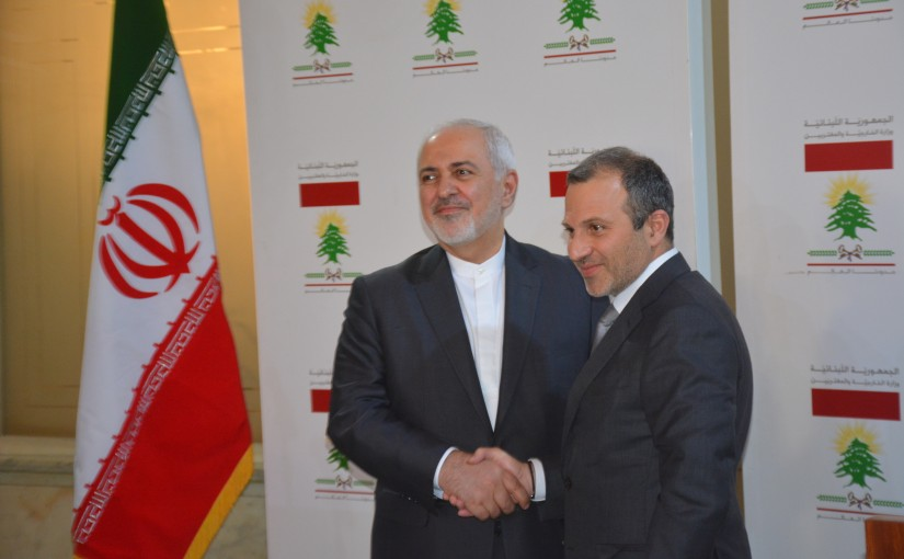 Minister Gebran Bassil meets Iranian Minister of Foreign affairs