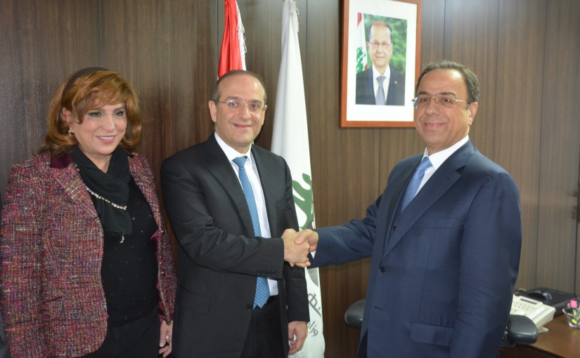 Handing over Ceremony at the Ministry of Economic
