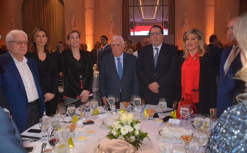 Lunch Hosted by The Economic Bodies in Honors of Minister Mouhamad Chkeir