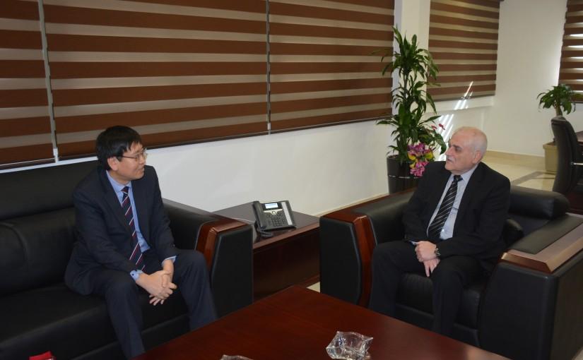 Minister Jamil Jabak meets Korean Ambassador