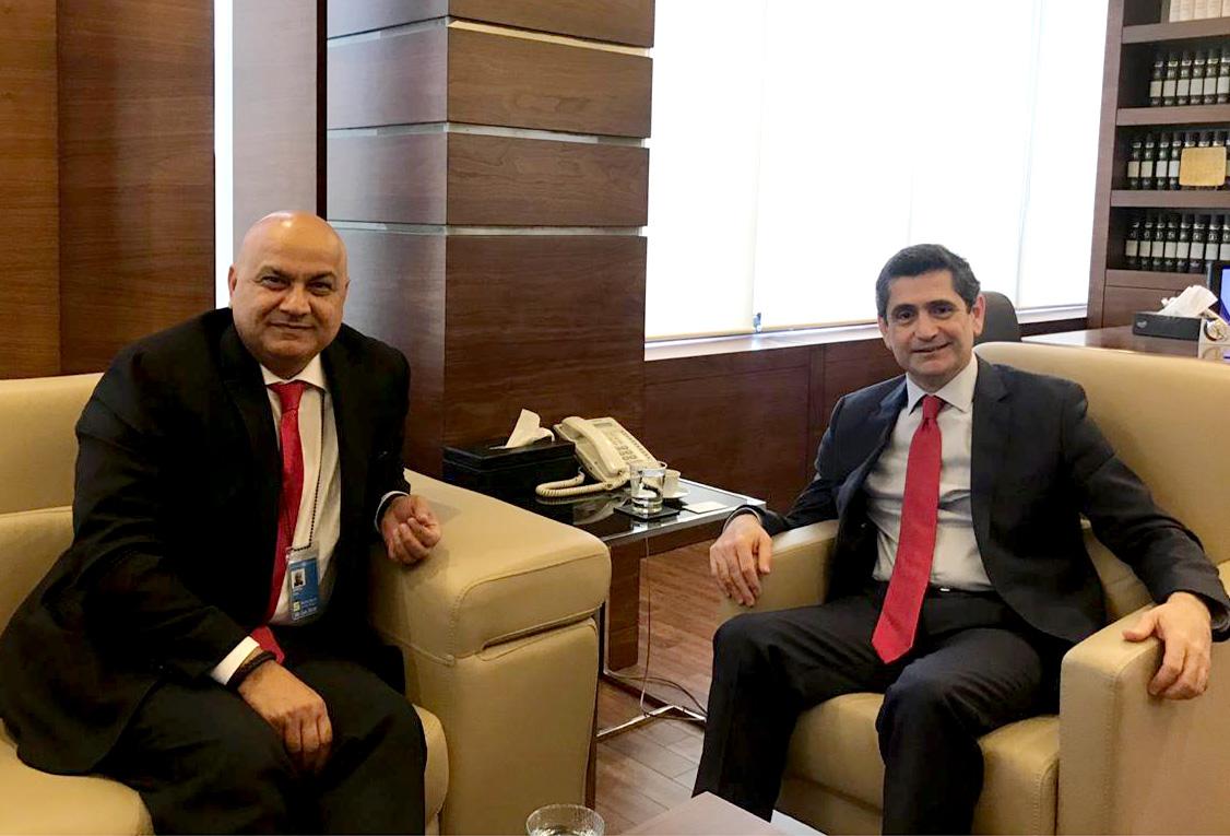 Minister Richard Kouyoumdjian meets a German Delegation