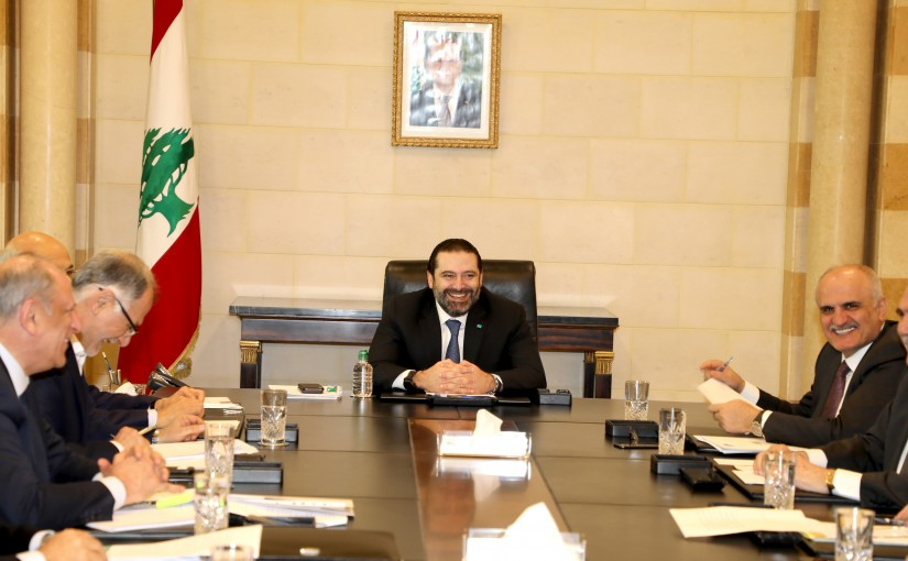 Pr Minister Heading a Ministerial Meeting