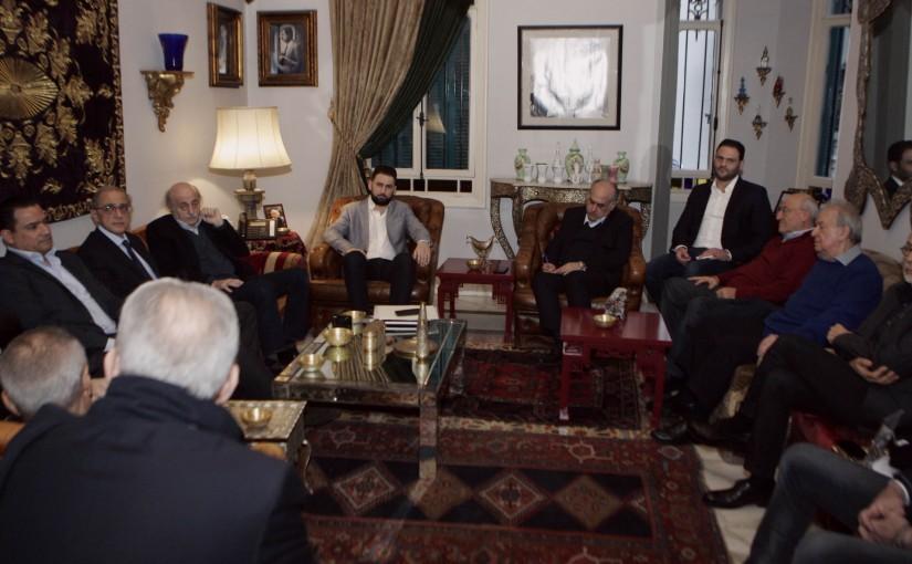 Meeting for Democratic Bloc