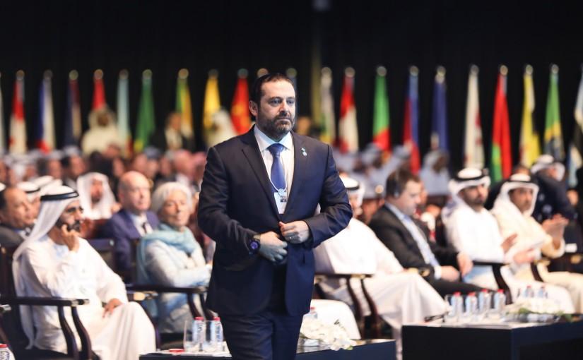 Interview for Pr Minister Saad Hariri at World Government Summit