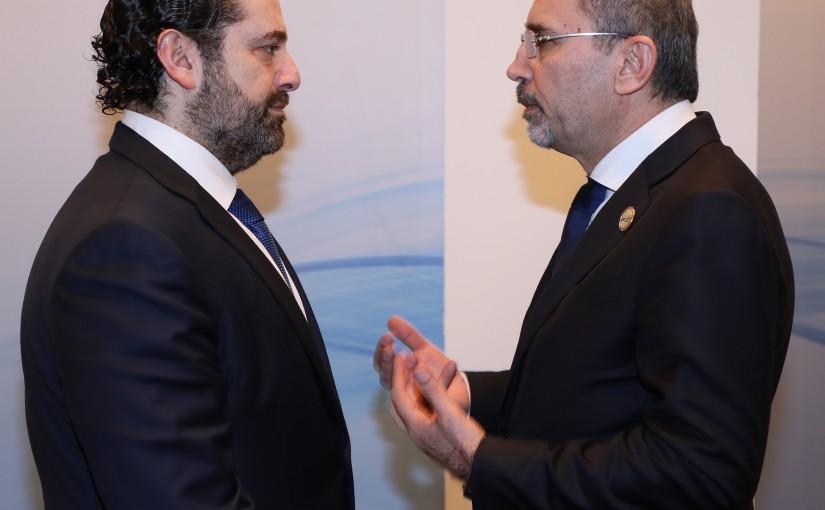 Pr Minister Saad Hariri meets Jordanian Minister of Foreign Affairs