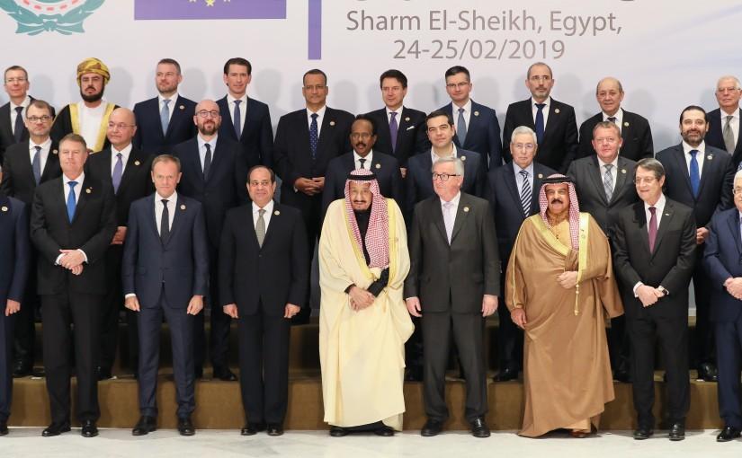 Family Photo for European Arab Summit