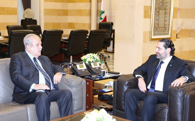 Pr Minister Saad Hariri meets Mr Joseph Sassine