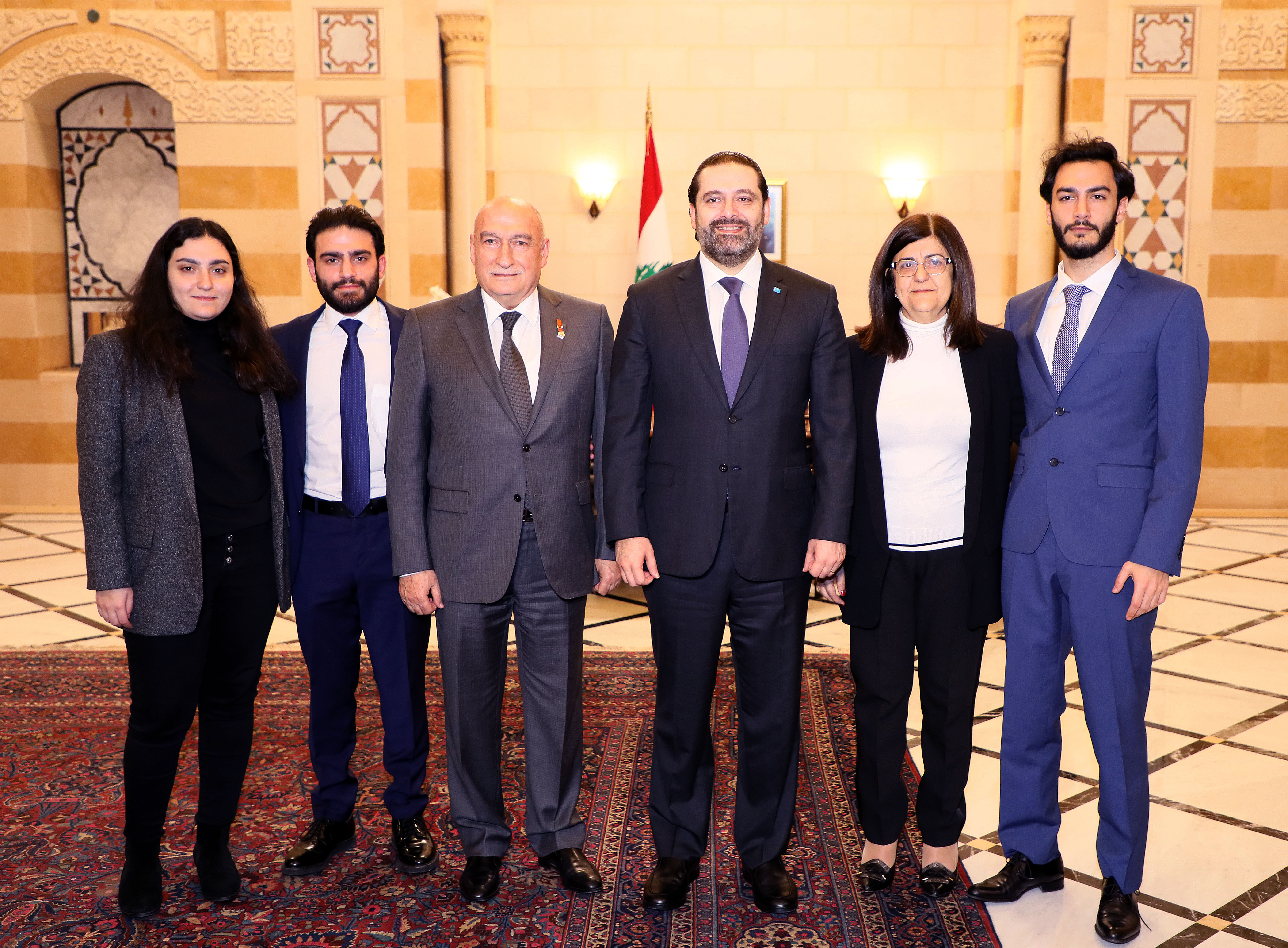 Pr Minister Saad Hariri Honors Mr Fouad Fleifel 1