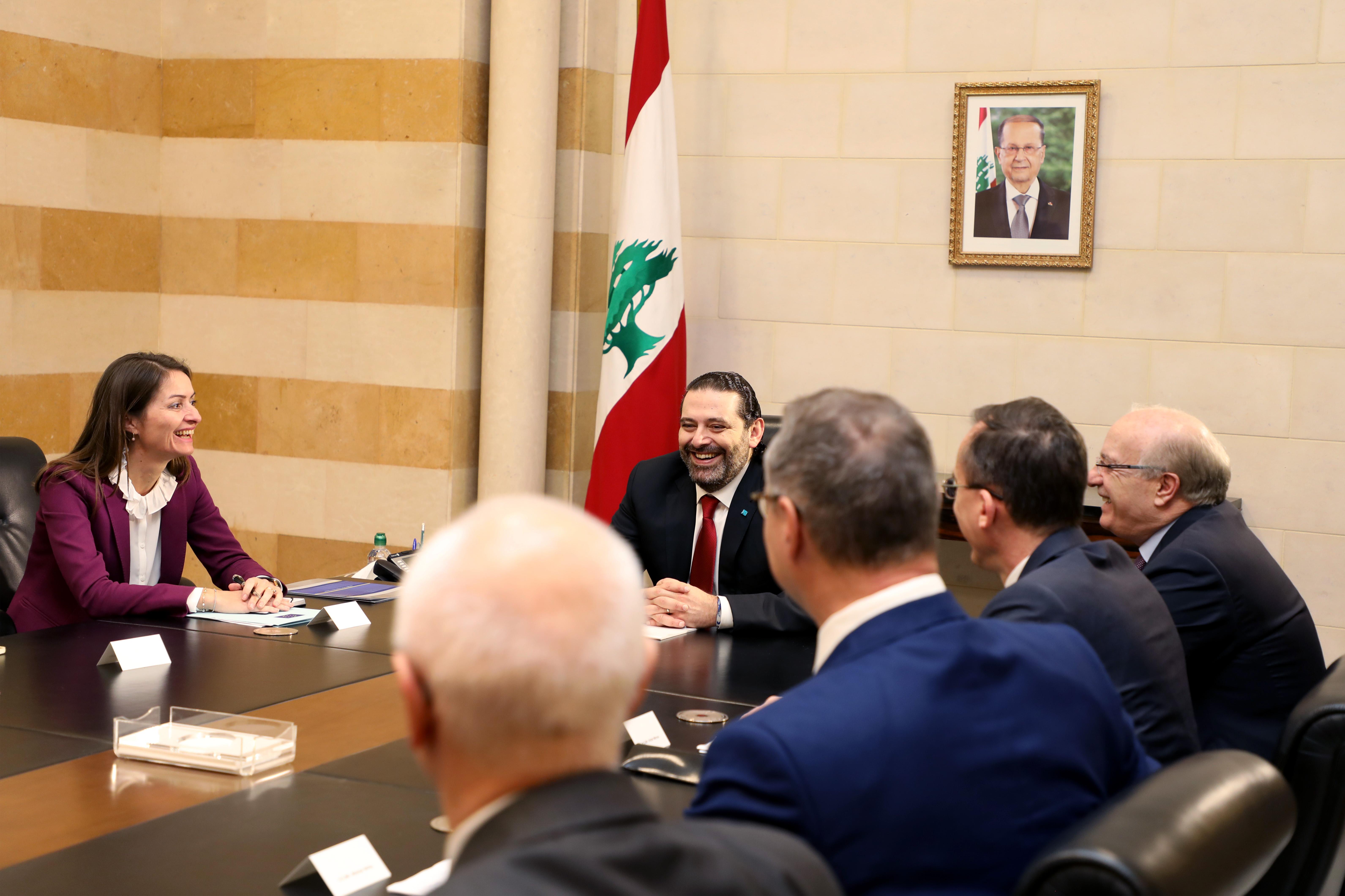 Pr Minister Saad Hariri meets European Ambassador 2