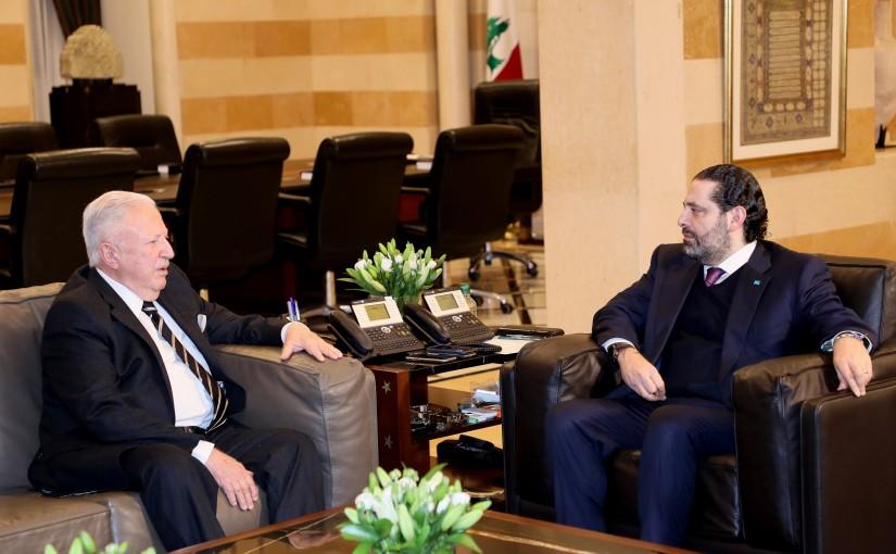 Pr Minister Saad Hariri meets Mr Toufik Soultan