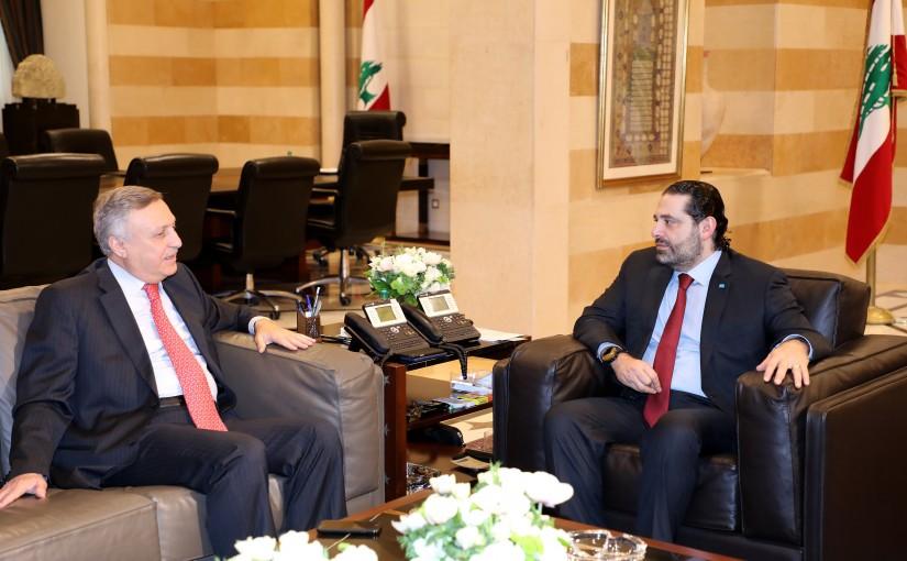 Pr Minister Saad Hariri meets Jordanian Ambassador