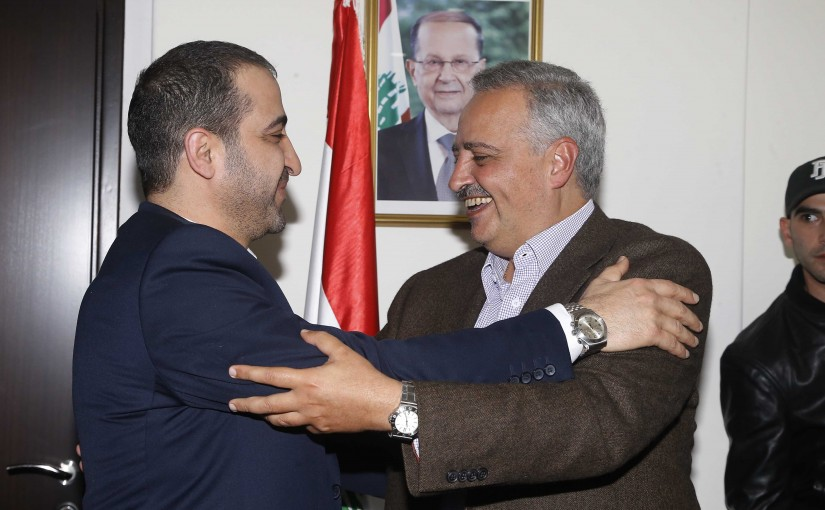 Handing over Ceremony at the Ministry of Displaced