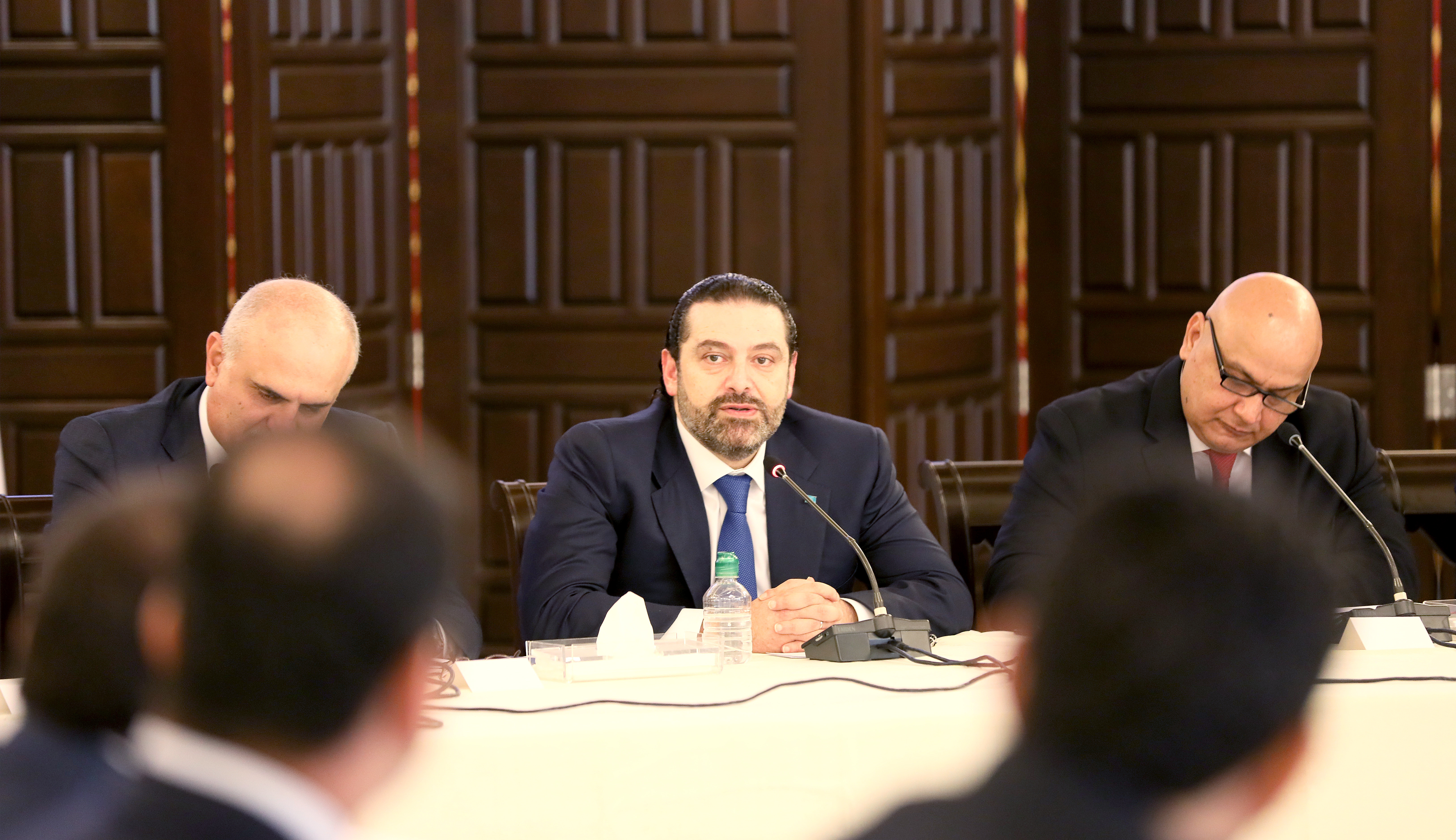 Workshop for Pr Minister Saad Hariri at Grand Serail 1