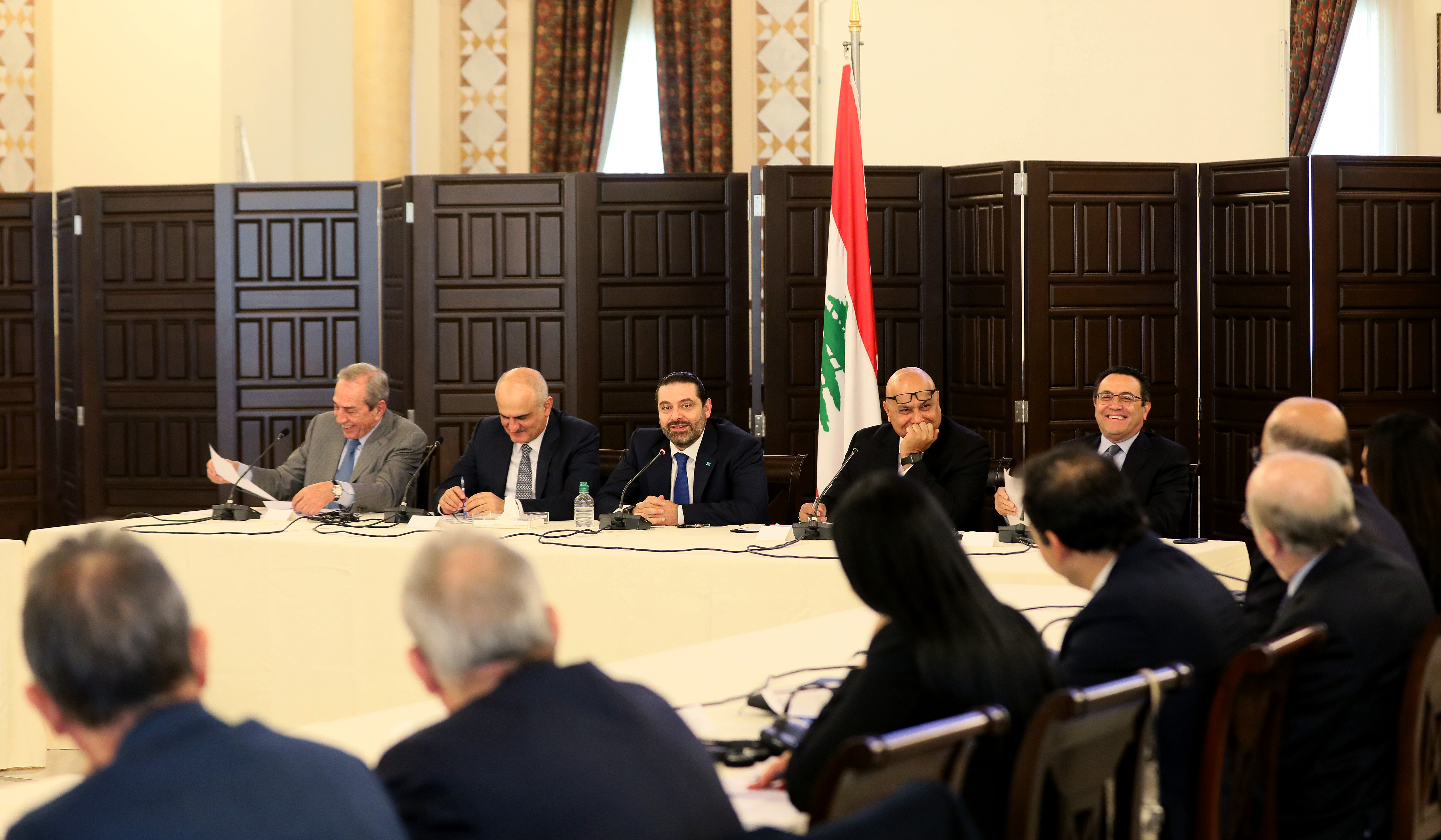 Workshop for Pr Minister Saad Hariri at Grand Serail  2