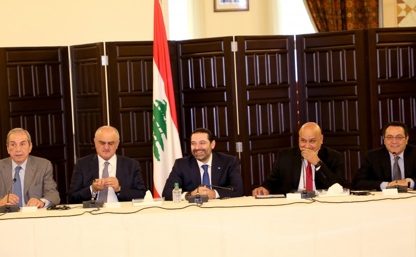 Workshop for Pr Minister Saad Hariri at Grand Serail