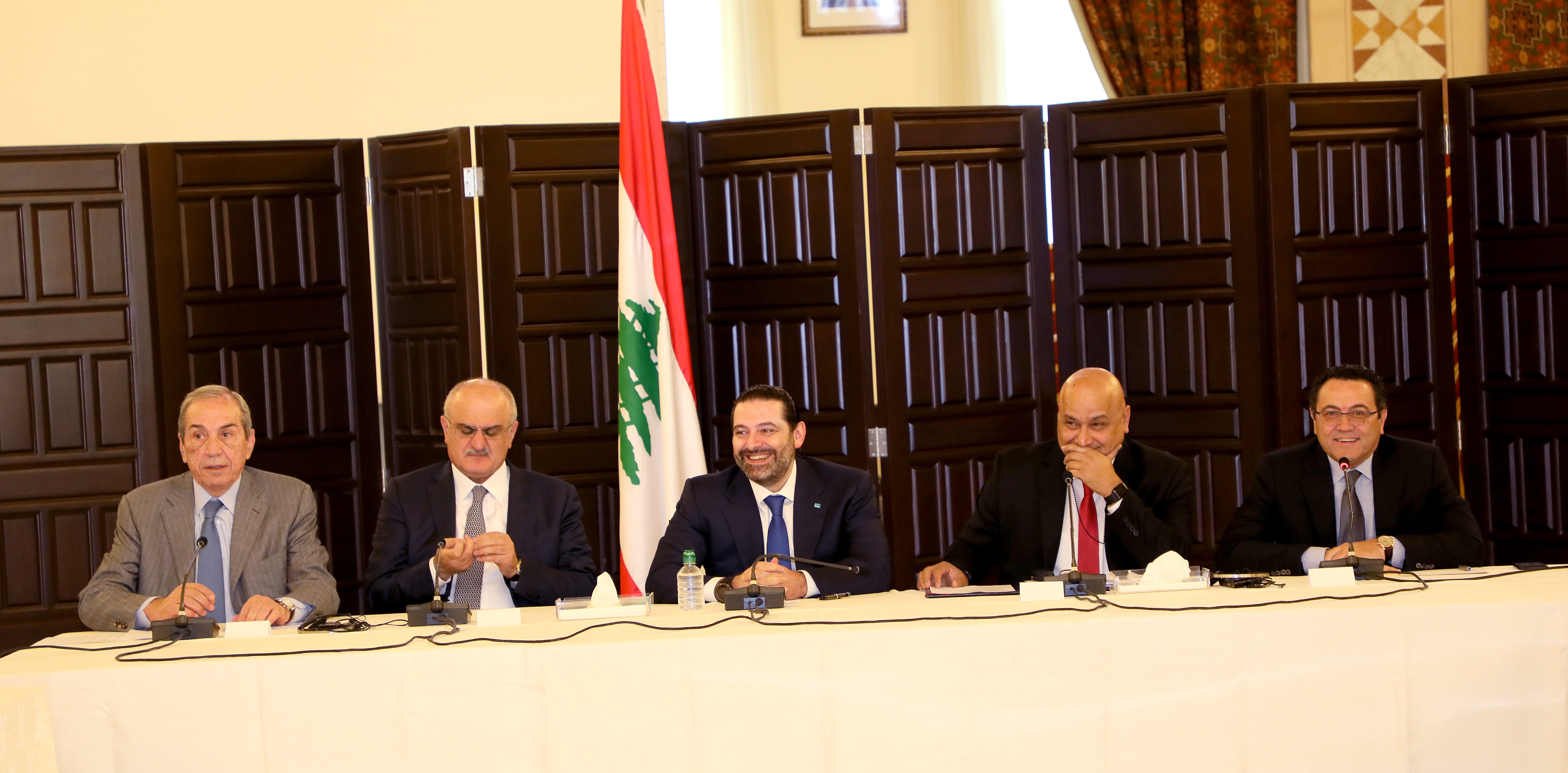 Workshop for Pr Minister Saad Hariri at Grand Serail  4
