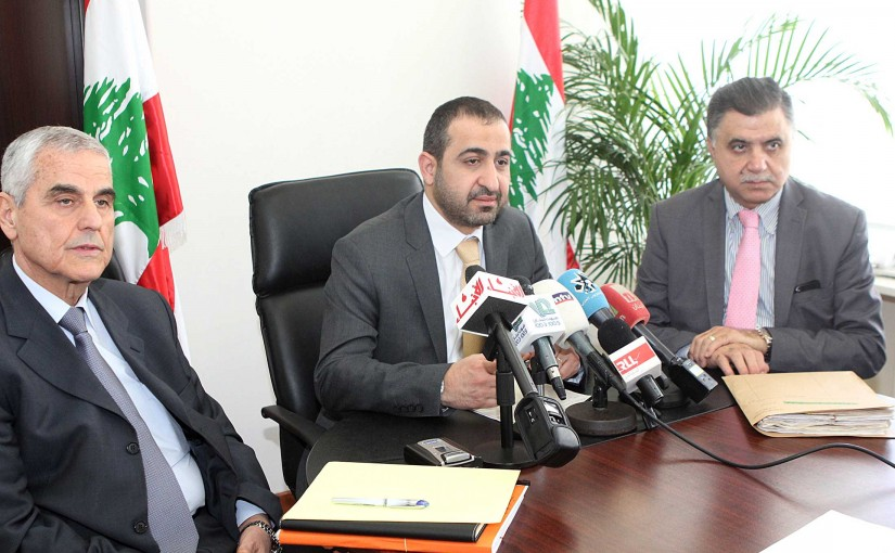 Press Conference for Minister Ghassan Attalah