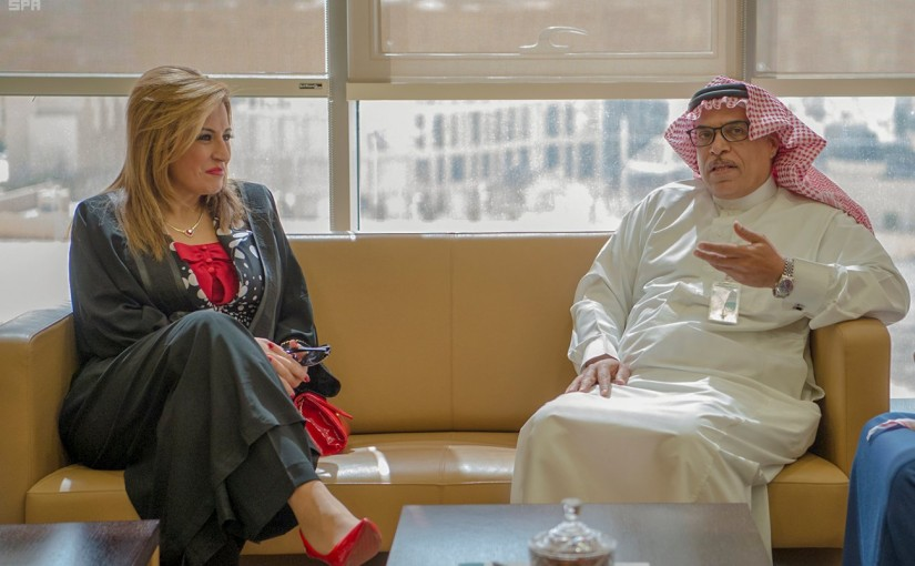 Director of the National Information Agency Mrs Laure Sleiman Visits Saudi Press Agency