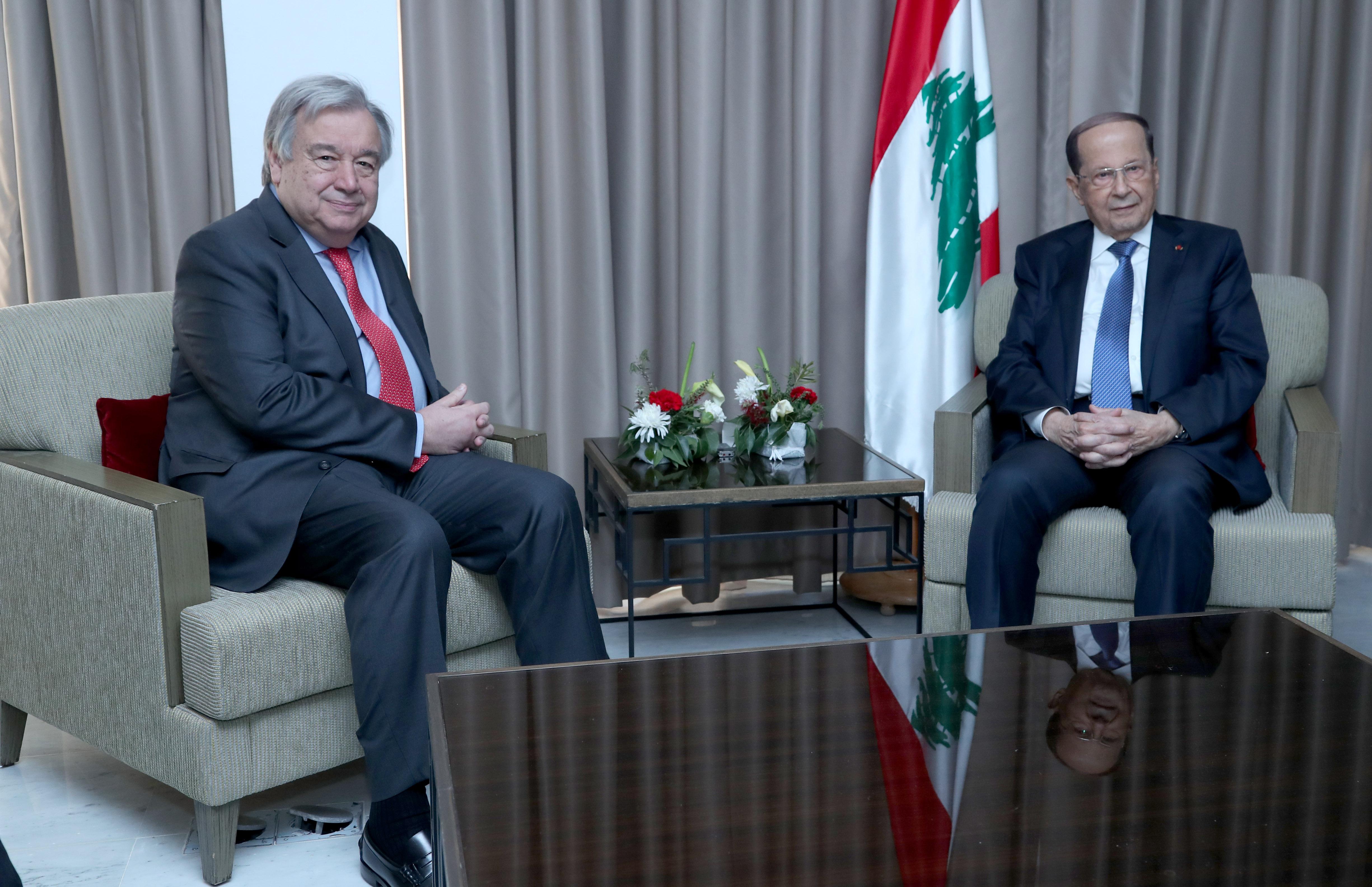 002 aUN Secretary-General António Guterres