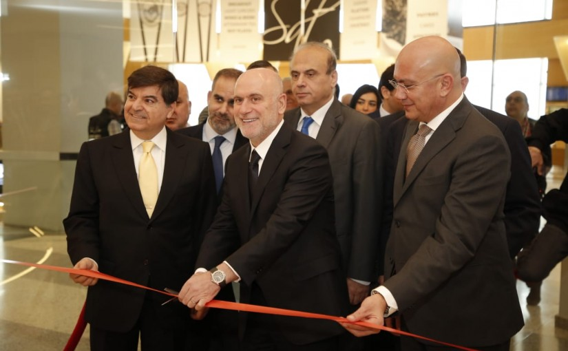Minister Youssef Fenianos During The Inauguration of the First Class and Business Class Lounge at The Airport
