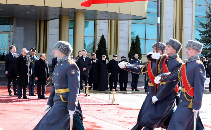 The Arrival of President Michel Aoun to Russia ,Moscow (Vnukovo Airport).
