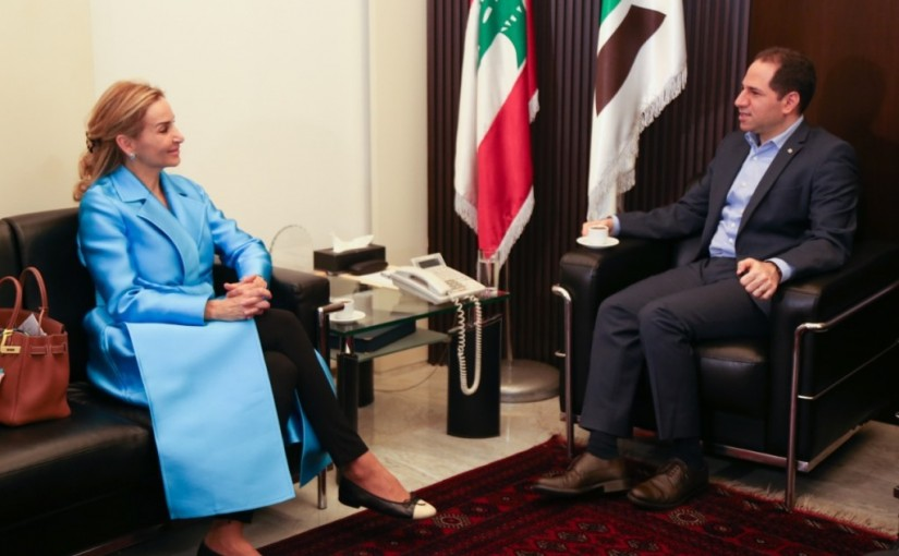 MP Sami Gemayel Meets Swiss Ambassador