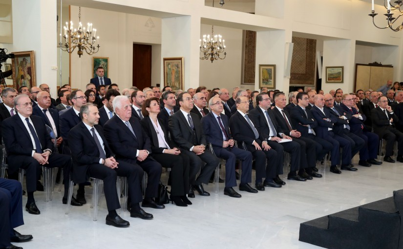 Launch Of The National Campaign To Boost The Lebanese Economy .