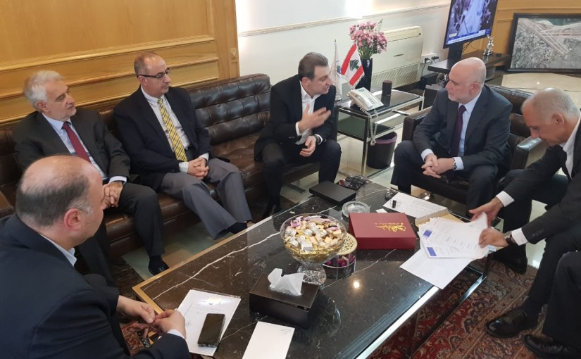 Minister Youssef Fenianos Meets Minister Wael Abou Faour