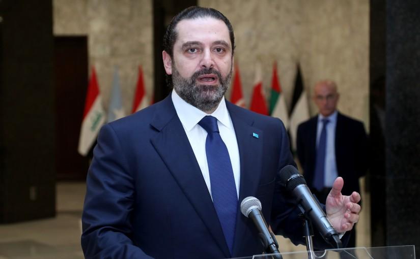 President Michel Aoun meets Prime Minister Saad Hariri.