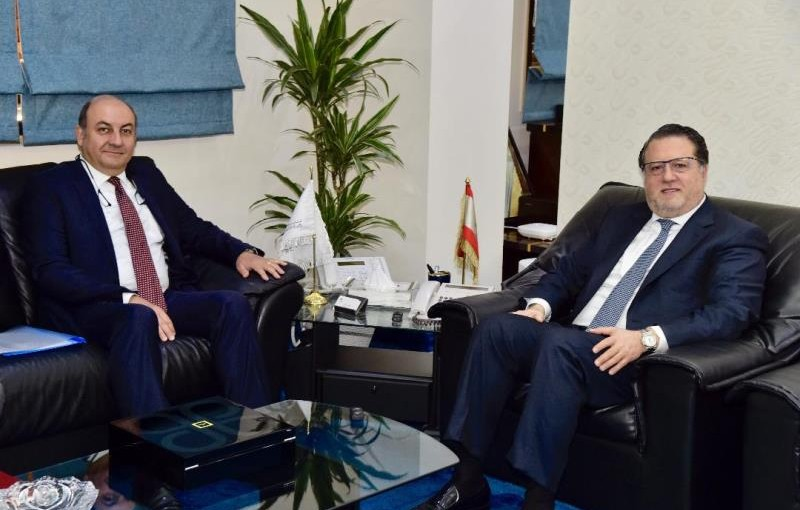 Minister Mohamad Chkeir Meets Turkish Ambassador