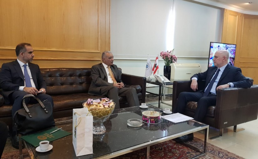 Minister Youssef Fenianos Meets Iraqi Ambassador